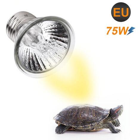 Reptile Lampe Chauffante Ampoule Ampoule Tortoise Lampe De Chaleur Pour L'Ampoule De La Lampe De Chauffage Basking