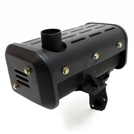 Repuesto silenciador de escape de motor diesel para 10 CV