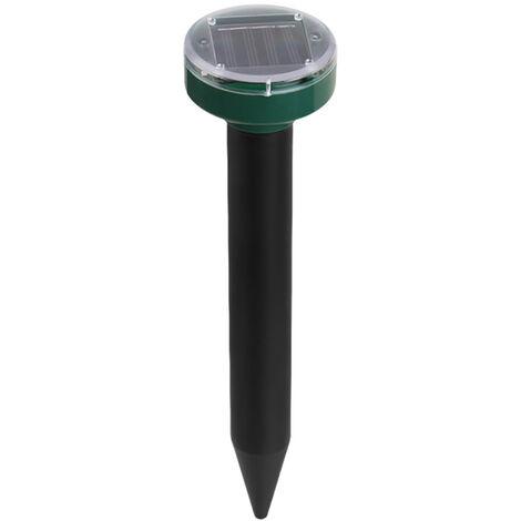 Repulsif de souris a ultrasons solaire rond explosif Repulsif solaire de serpent de ferme LED exterieur