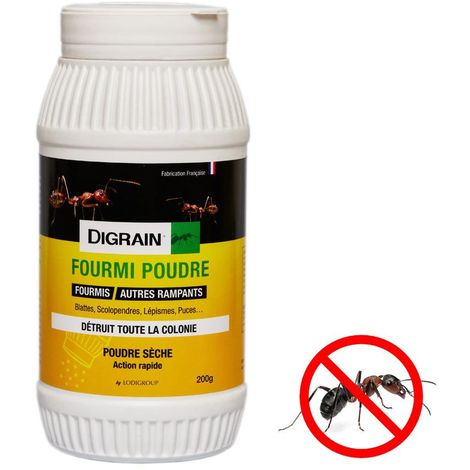 Repulsif fourmi en poudre Action rapide