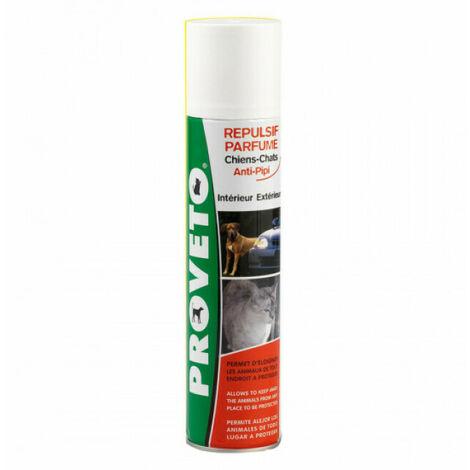 Répulsif intérieur et extérieur pour chien et chat Provéto aérosol 400 ml