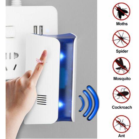 Répulsif Ultrason Anti-Rongeurs Insectes Répulsif électronique Anti Rats Souris Moustiques CoquerellePRISE EU