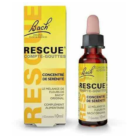 Rescue 10 ml - Fleurs de Bach