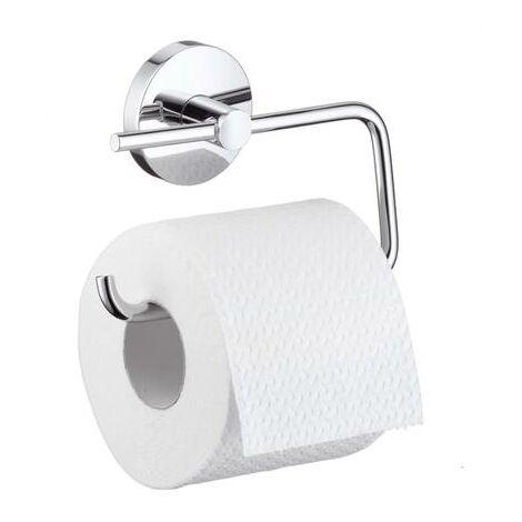 Réserve porte papier wc mural chromé Logis - Hansgrohe 40517000