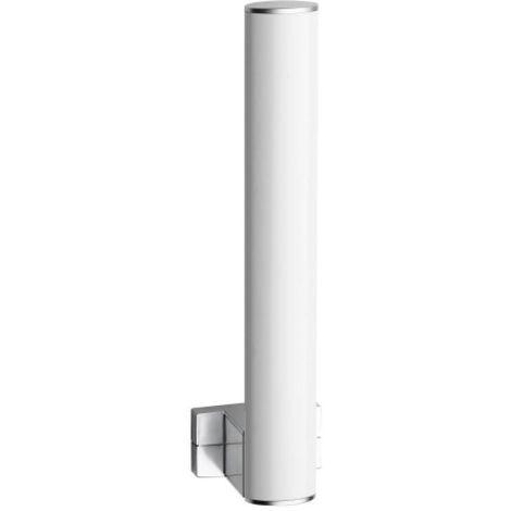 Réserve pour papier WC blanc/chromé mat Arsis