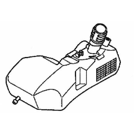 Réservoir à carburant tracteur tondeuse Honda