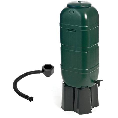 Réservoir à eau de jardin - inclus vanne/socle/kit de remplissage - 100 L