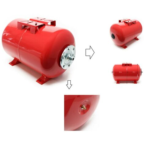 Réservoir à pression vessie 50 Litres pour la surpression de cuve, ballon