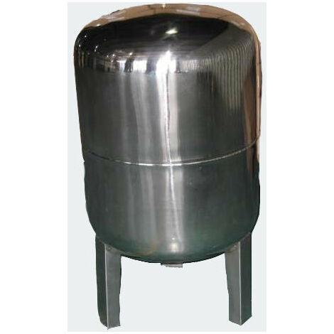 Réservoir à vessie p.la surpression domestique cuve ballon 100 litres inox