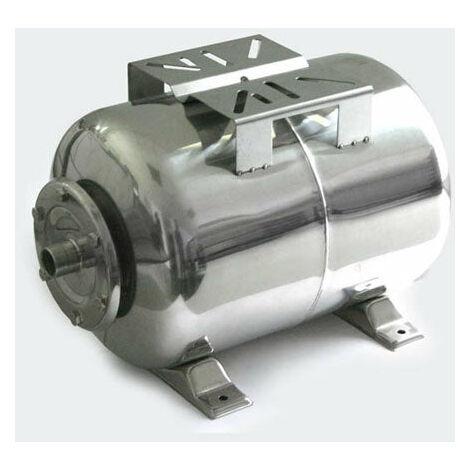 Réservoir à vessie p.la surpression domestique cuve ballon 50 litres inox