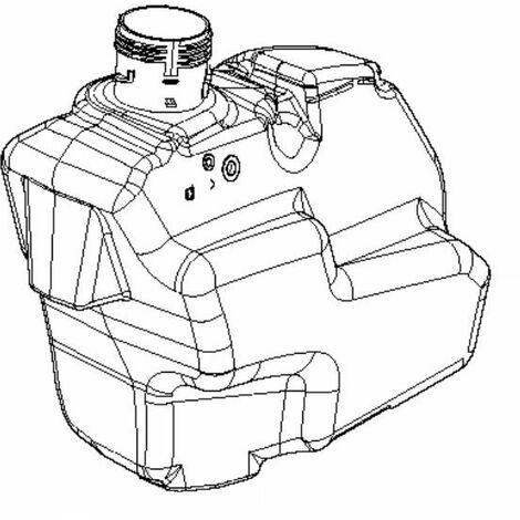 Réservoir d'essence tracteur tondeuse Husqvarna