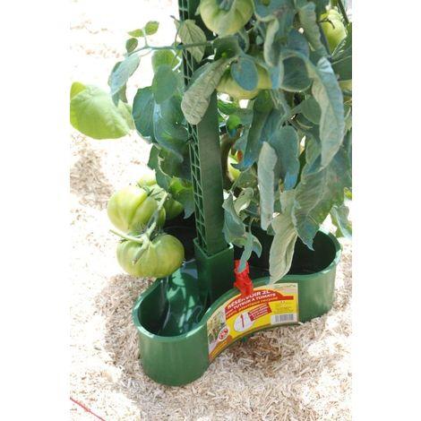 Réservoir éco-tuteur à tomates