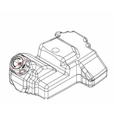 Réservoir essence tracteur tondeuse MTD