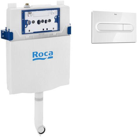 Réservoir interieur 2 boutons Roca One avec plaque