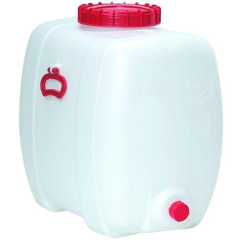 Réservoir petit format - capacité 150 litres - L x l x h 740 x 470 x 660 mm - Coloris: Incolore