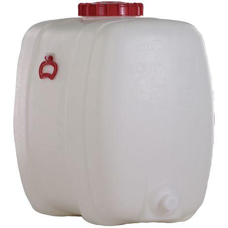 Réservoir petit format - capacité 200 litres - L x l x h 855 x 500 x 730 mm - Coloris: Incolore