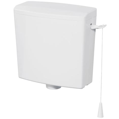 Réservoir R380H 380x368x160 à chainette haut blanc - WIRQUIN