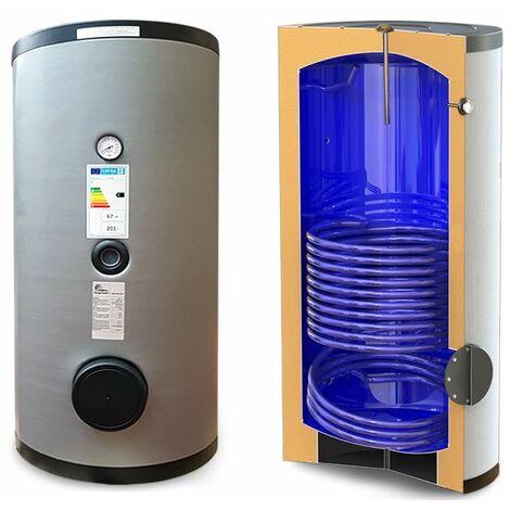 Réservoir vitrifié avec échangeur fixe pour la production d'eau chaude sanitaire