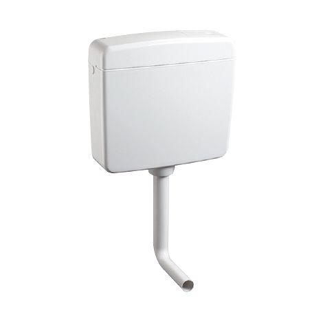 Réservoir wc avec entraînement pneumatique Topazio OL0411721 | Blanc