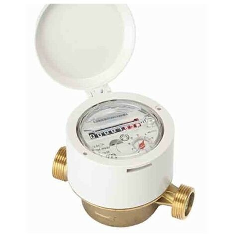 "Residential meter 13mm R160 single jet cold water 7/8"" -3/4"""