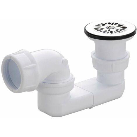 Residuos de PVC ajustables con rejilla para el receptor D.50 - 0205003