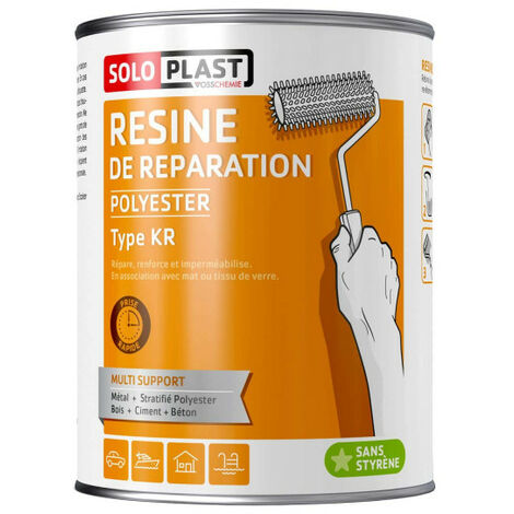 Resin KR Soloplast 2 KG