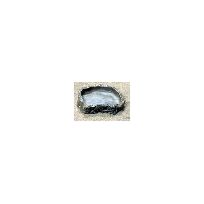 Image of Resin Shallow Rock Bowl (174816) - JUNGLE