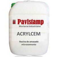 Resina acrilica para amasado microcemento -5 Kg