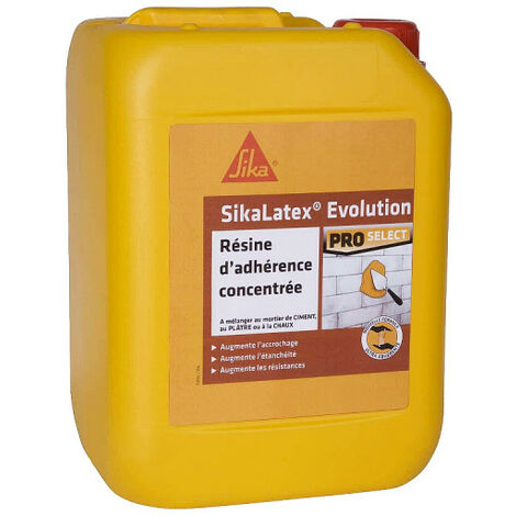 Resina di adesione SIKA SikaLatex EVOLUTION - 5L