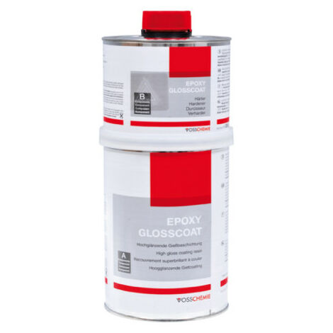 resina epossidica glosscoat Vosschemie 1 KG