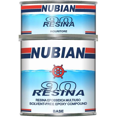 Resina epossidica nubian litri 2,5 previene l'osmosi resina90