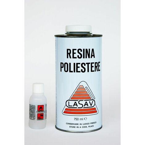 Resina liquida lasav universale per riparazioni generiche resina poliestere