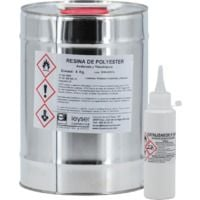 Resina Poliéster Acelerada Tixotropada
