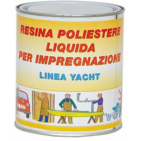 RESINA POLIESTERE TRASPARENTE gr. 750