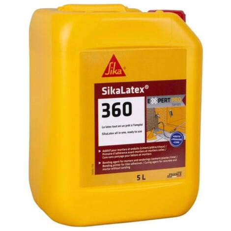 Résine d'accrochage SIKA SikaLatex 360 - 5L - Blanc