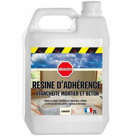 RESINE D'ADHERENCE ET ETANCHEITE CONCENTREE POUR MORTIER - ARCALATEX