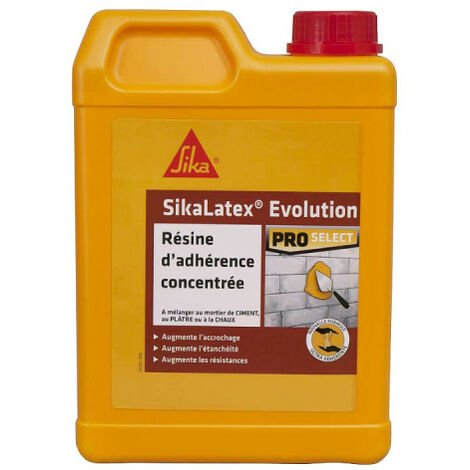 Résine d'adhérence SIKA SikaLatex EVOLUTION - 2L - Blanc