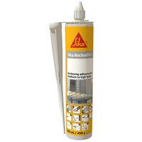 Résine de scellement chimique SIKA Sika Anchorfix 2 Plus - Gris - 300ml
