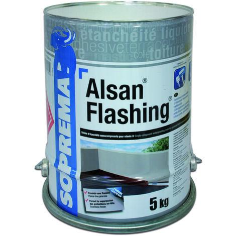 Résine d'étanchéité Monocomposante - ALSAN® FLASHING - Seau de 2,5 kg