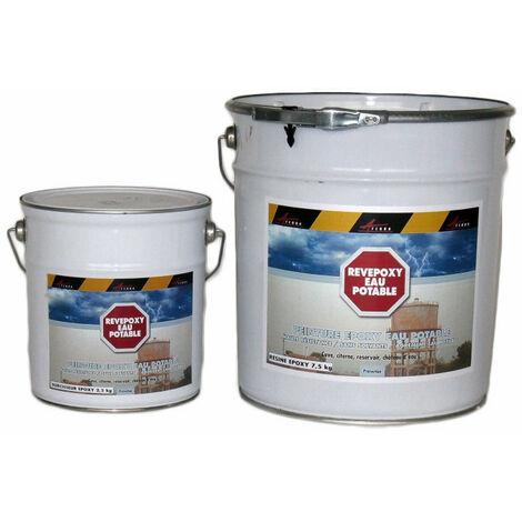 Resine Epoxy Pour Eau Potable - REVEPOXY EAU POTABLE - ARCANE INDUSTRIES - Bleu AZUR - Kit de 10 kg