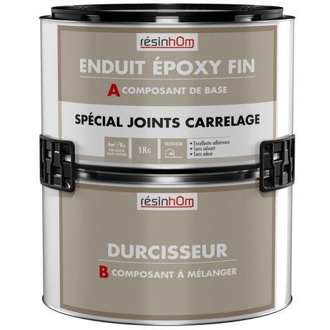 RESINE Epoxy pour joint de carrelage 1KG- Plusieurs couleurs disponibles