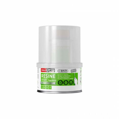 Résine epoxy type R123 Soloplast 250g