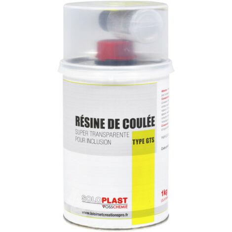 Résine GTS pro Soloplast 1 KG avec durcisseur
