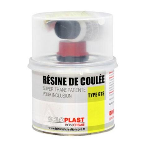 Résine GTS pro Soloplast 500g avec durcisseur