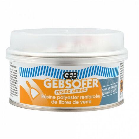 Résine polyester armée Gebsofer 150ml GEB