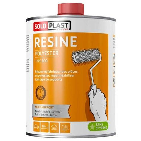 Résine polyester Soloplast type éco 2 KG