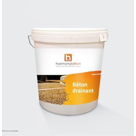 Résine polyuréthane - Béton drainant