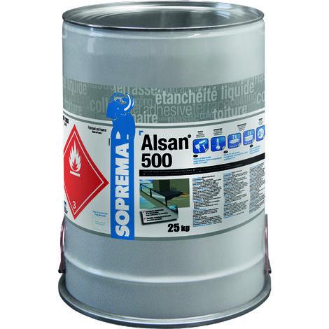 Résine polyuréthane pour étanchéité circulable - ALSAN® 500 RAL1001 - 25kg