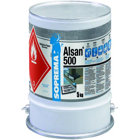 Résine polyuréthane pour étanchéité circulable - ALSAN® 500 RAL1001 - 5kg