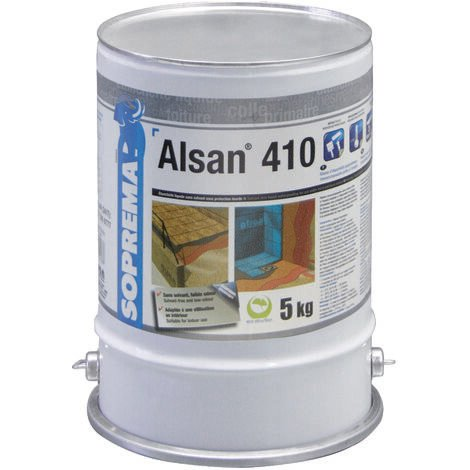 Résine polyuréthane pour étanchéité sous protection lourde - ALSAN® 410 - 5kg
